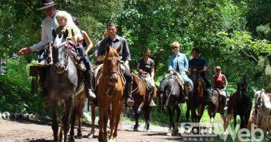 SAYTA, Un finde a caballo en Chicoana