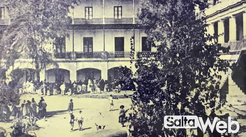 Foto histórica de las Termas de Rosario de la Frontera