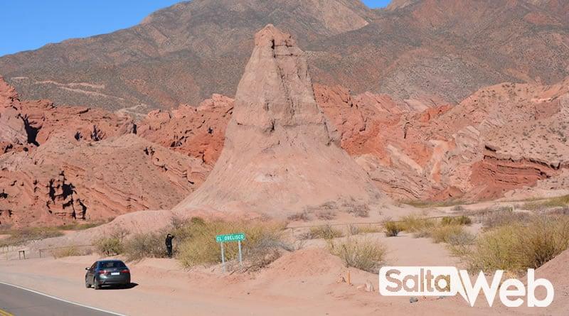 El Obelisco- Quebrada de Las Conchas