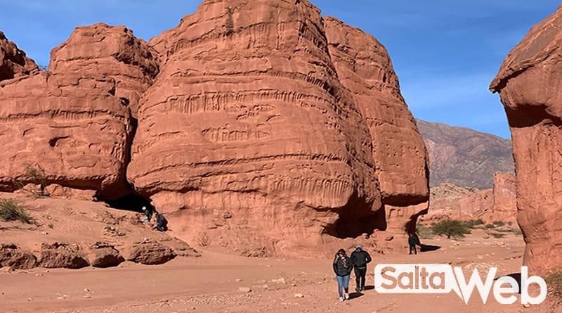 Trekking en Los Colorados Cafayate