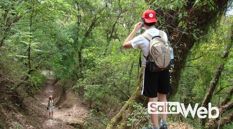 trekking en quebrada de san lorenzo