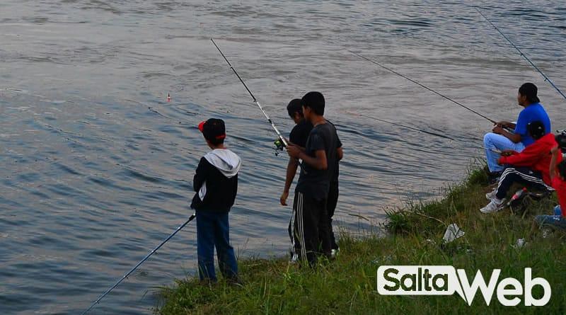 pesca en dique campo alegre