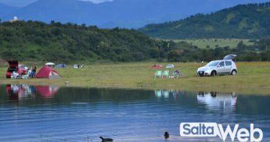 camping en dique campo alegre