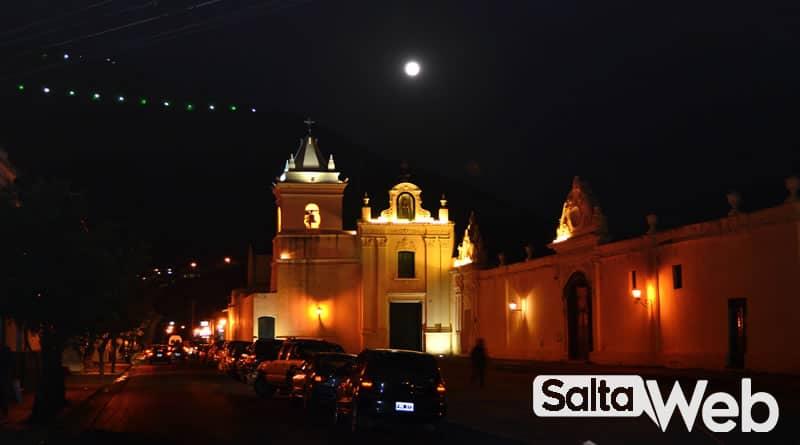 convento san bernardo y luna llena