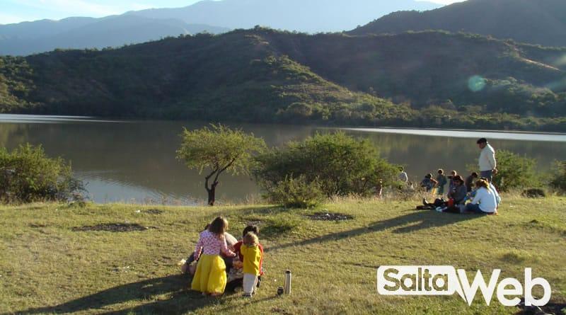 Dique Las Lomitas en Campo Quijano