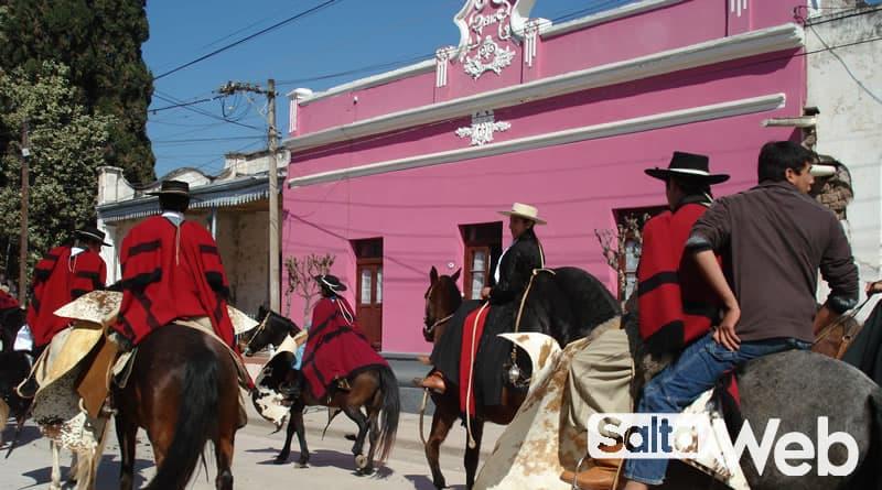 desfile gaucho en chicoana