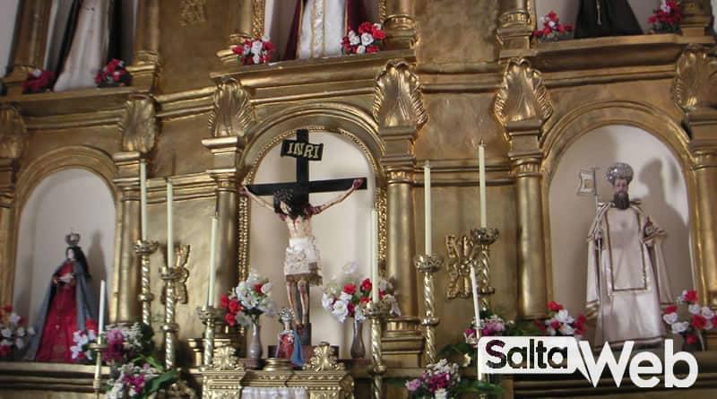 Altar iglesia de Molinos