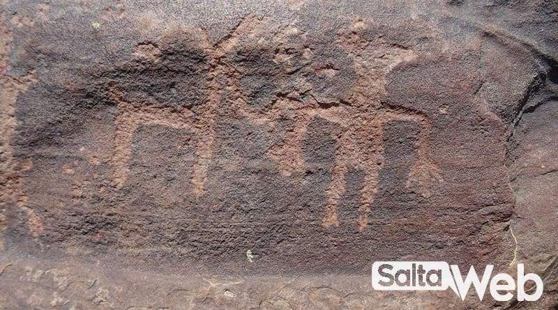petroglifo en tastil
